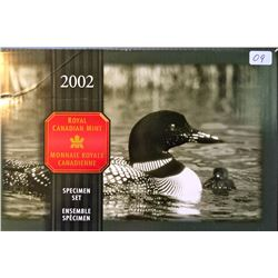 Specimen Set 2002P Loon Family in box of issue with COA.