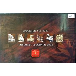 Specimen Set 2003P in box of issue with COA.