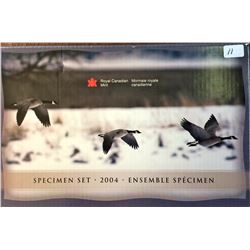 Specimen Set 2004P Canada Goose in box of issue with COA.