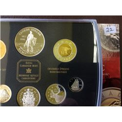 Proof Set 1998 RCMP in box of issue with COA.