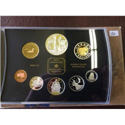Proof Set 2002 Golden Jubilee in box of issue with COA.