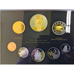 Proof Set 2007 Thayendanegea Gold Plated in box of issue with COA.