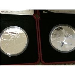 1 dollar 2009 Bright Uncirculated and Proof Flight both in original packaging with COA. Lot of 2 coi