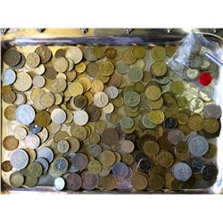 France 249 coins and Morocco 4 coins, 1134 gr worth every pennies paid for it.