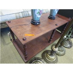 Used Wood Coffee Table