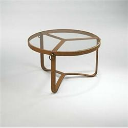 Jacques Adnet Coffee Table Hermes France S Leather Over - Hermes coffee table