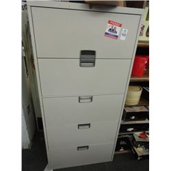 Steelcase Metal 5-Drawer Lateral File