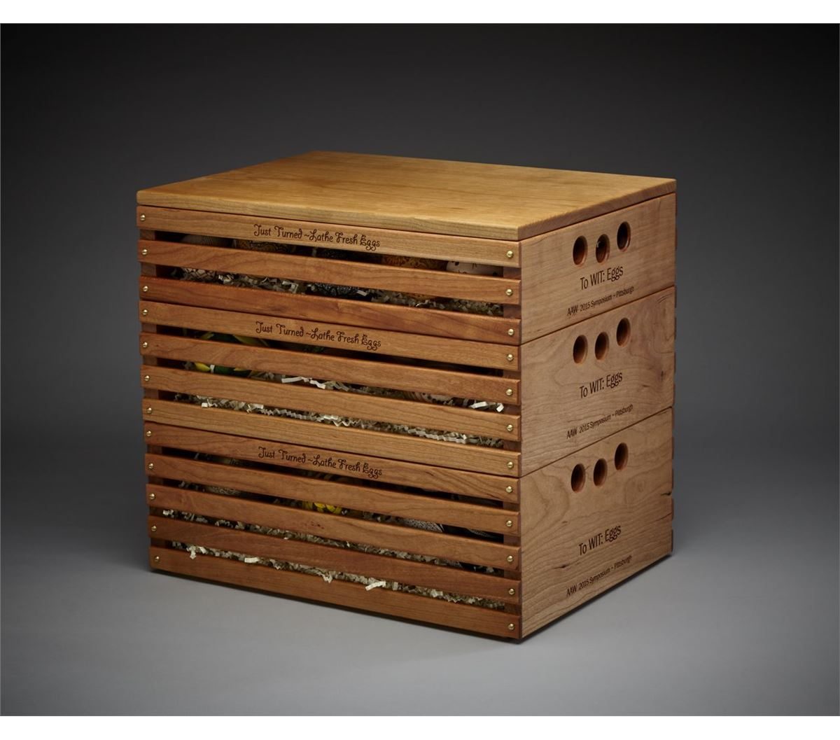 Egg Crate by AAW Virtual Chapter Women in Turning