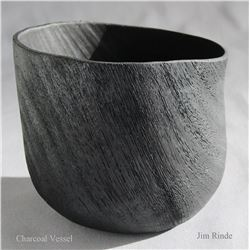 Charcoal Vessel, by Jim Rinde