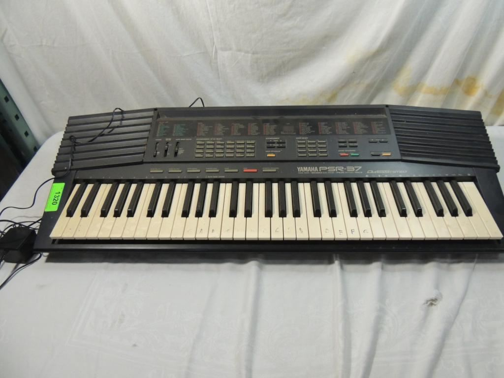 yamaha psr 37 electronic keyboard