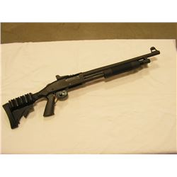 Mossberg 500 Tactical CUSTOM Shotgun (Flashlight, ATI Stock kit, Shell racks)