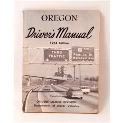 1964 OREGON DRIVERS MANNUAL BOOKLET