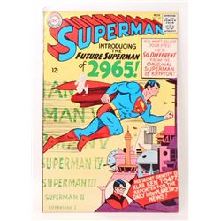 1965 SUPERMAN COMIC BOOK NO. 181 - 12 CENT COVER