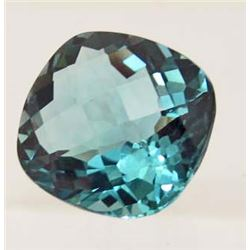25.44 CT AQUAMARINE AFRICAN QUARTZ