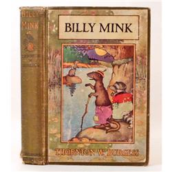 "1924 ""BILLY MINK"" HARDCOVER BOOK"