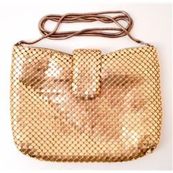 VINTAGE GOLD LADIES MESH PURSE