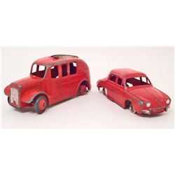 LOT OF 2 VINTAGE DINKY TOY CARS