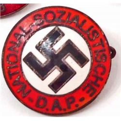 NAZI GERMAN NSDAP PARTY BADGE