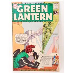 1962 GREEN LANTERN COMIC BOOK NO.12 - 12 CENT COVER