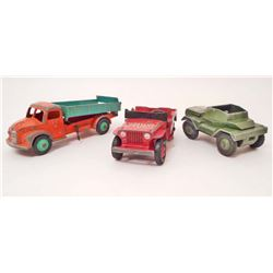 LOT OF 3 VINTAGE DINKY TOY CARS