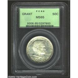 1922 50C Grant MS65 PCGS. A touch of milky patina is noted, however, it does little to dull the flas