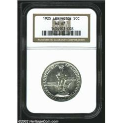 1925 50C Lexington MS67 NGC. High grade commemoratives often derive much of their grade from origina
