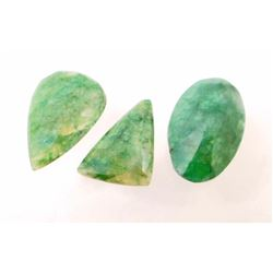 LOT OF 101.0 CTS OF EMERALDS