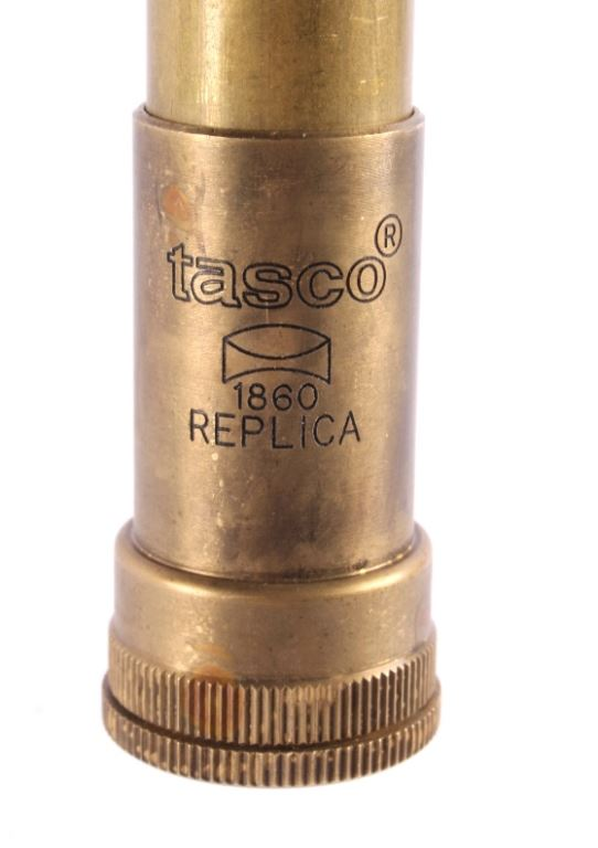 Tasco 1860 Replica 4x15 A 563 Buffalo Brass Scope