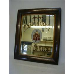 A brewery advertising mirror 39 ask for ind coope 39 s castle for Mirror 80 x 50
