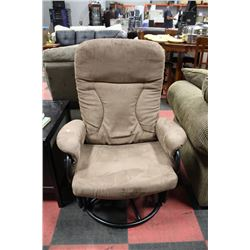 how to clean micro fibre rocking chair
