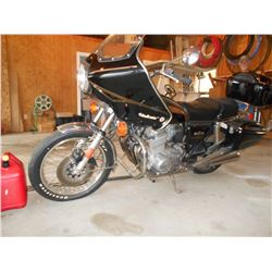 Vintage 1978 Honda 750 Four motorcycle