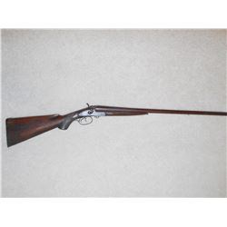 Double Barrel Black powder shotgun