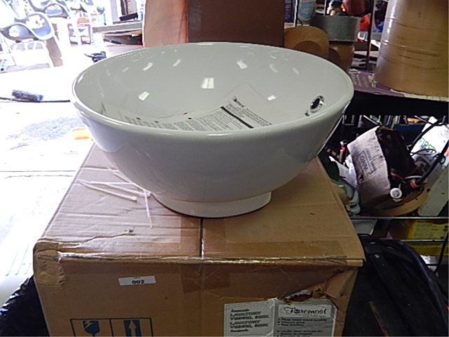 Above Counter Bathroom Sink Bowls : ROUND BATHROOM VANITY SINK - ABOVE COUNTER MOUNTING BOWL