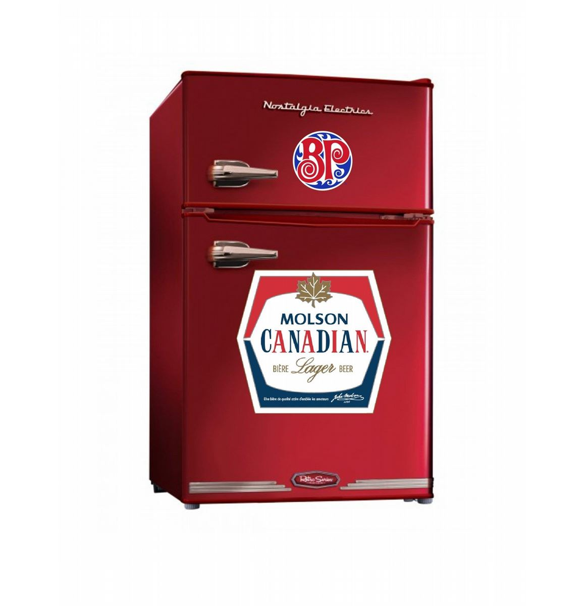 custom vintage canada products for wrapped garage fridges fridge