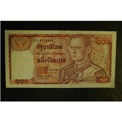 Bank of Thailand 100 Baht Note