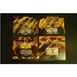 4 US Mint 50 State Quarter UNC sets