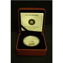 "2013 ""Arctic Expedition"" Proof Silver Dollar"