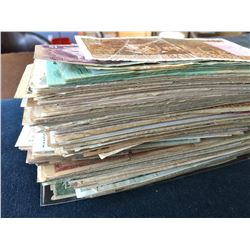 World banknote assorted lot. 420 grams, see pictures, sold as is no return.