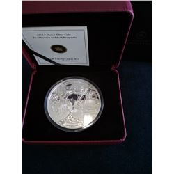 50 dollars 2013, HMS Shannon and USS Cheasapeake, Proof in case with sleeve and COA.