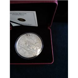 50 dollars 2014, Swimming Beaver, Proof in case with sleeve and COA.