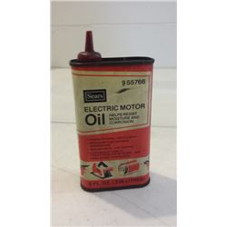 Sears electric motor oil can for How long does motor oil last