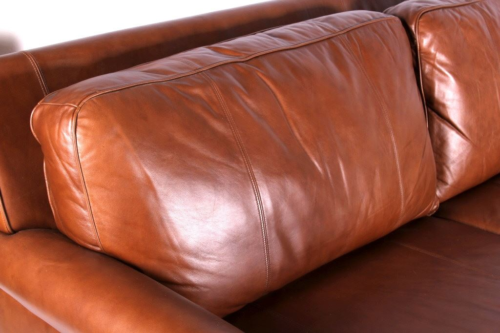 Beau ... Image 7 : Drexel Heritage Leather Couch ...