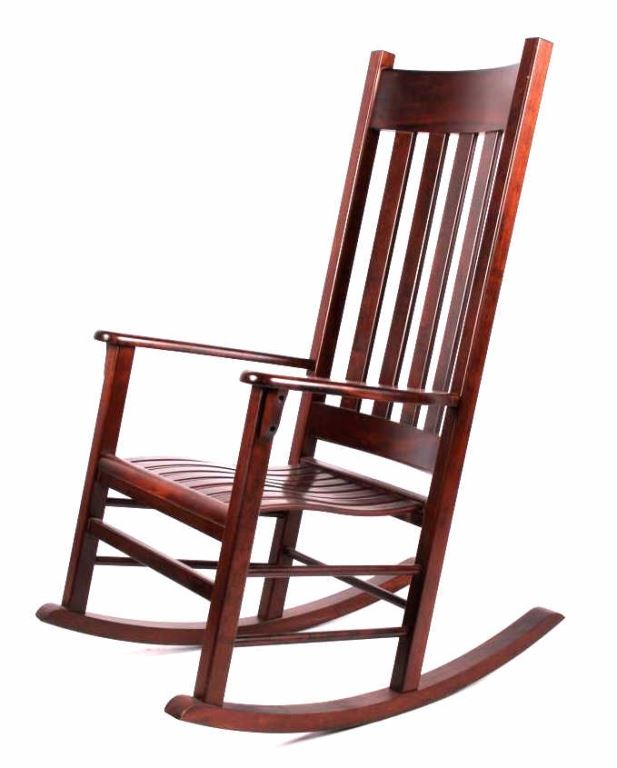 ... Image 2 : Tyndall Creek Furniture Mission Rocking Chair ...