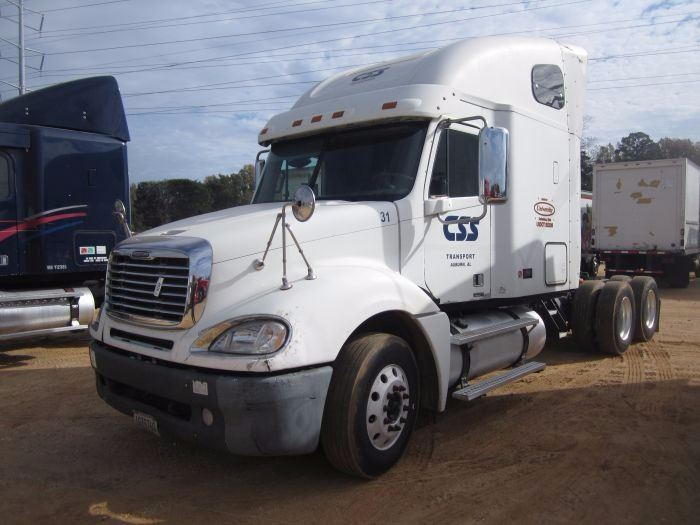 2007 freightliner columbia t a truck tractor s n for Mercedes benz montgomery road