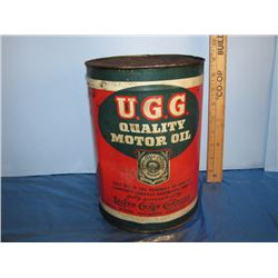 Ugg quality motor oil 1 imperial gallon can for Gallon of motor oil price