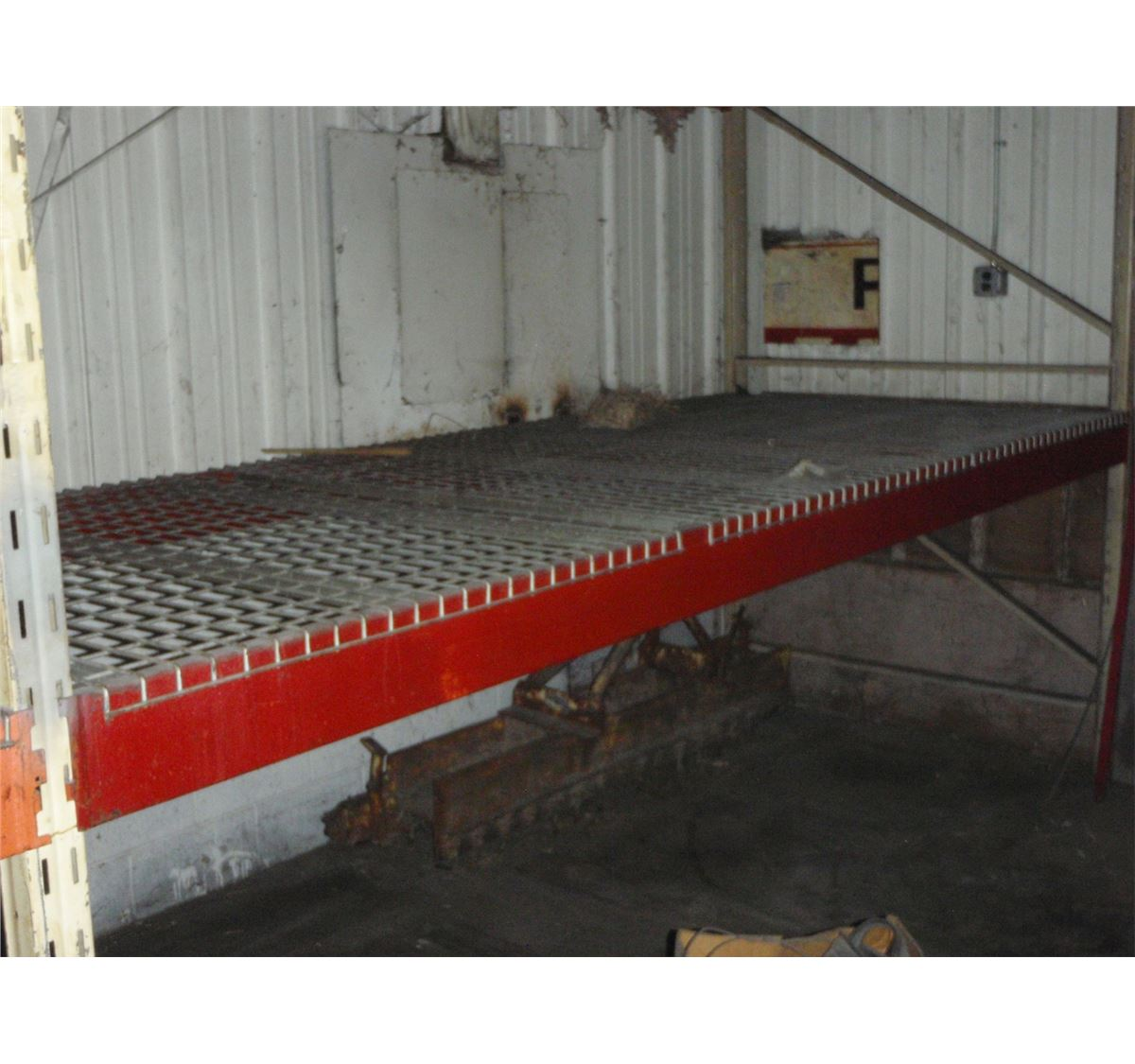 2 Sections Of Pallet Racking 25 Total Length X 60 Quot Wide