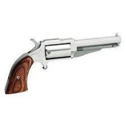 "_NEW!_ NAA 18603 1860 The Earl 22 Mag 3"" 5 Wood Grip Stainless Finish 744253001963"