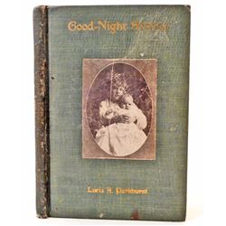 """1908 """"GOOD-NIGHT STORIES"""" BY LUCIA PARKHURST"""