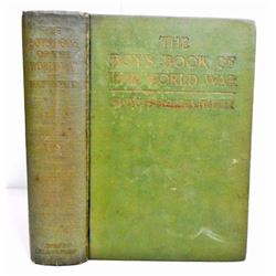 "1920 ""THE BOYS BOOK OF THE WORLD WAR"" HARDCOVER BOOK"