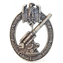 GERMAN NAZI ARMY FLAK ARTILLERY BADGE